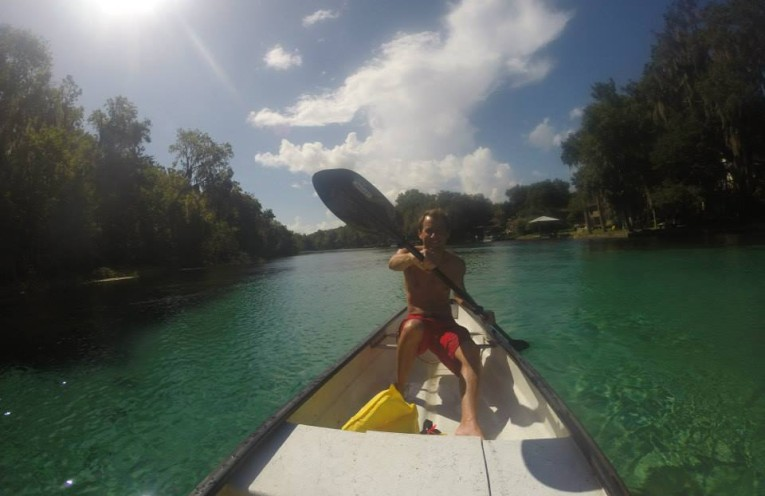 Kayaking On The Rainbow River
