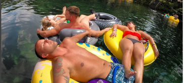 Rainbow River Tubing in Dunnellon FLorida